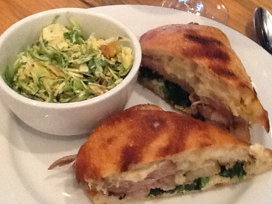 Domenica's Porchetta Panini New Orleans Louisiana United States