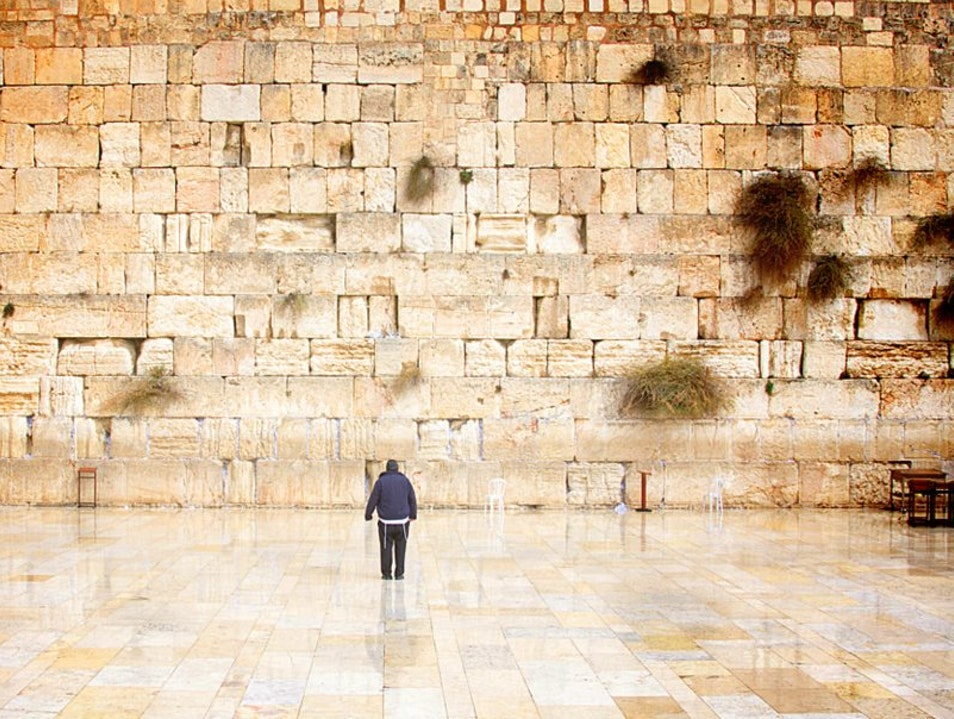 He and The Western Wall Jerusalem  Israel