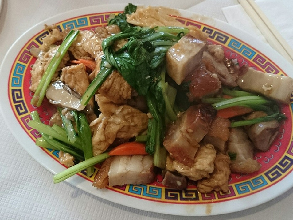 Cheap Chinese with a Bit of History