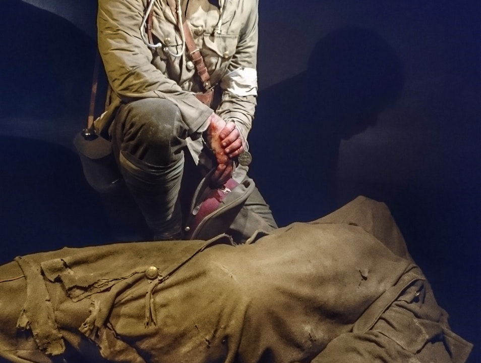 Gallipoli: The Scale of Our War at Te Papa Wellington  New Zealand