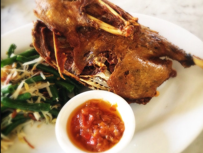 Bebek Goreng (Crispy Fried Duck)