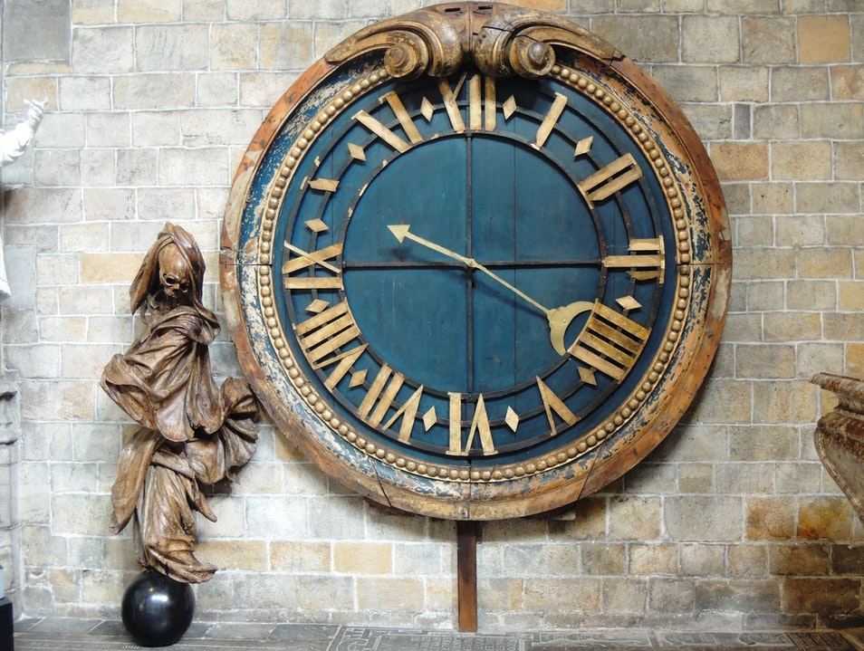 Time - the death of us all! Mons  Belgium
