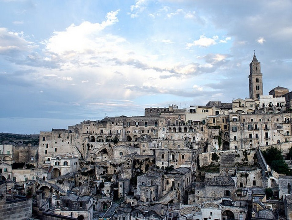 Creative Cave Dwellings in Matera, Italy Matera  Italy