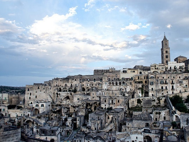 Creative Cave Dwellings in Matera, Italy