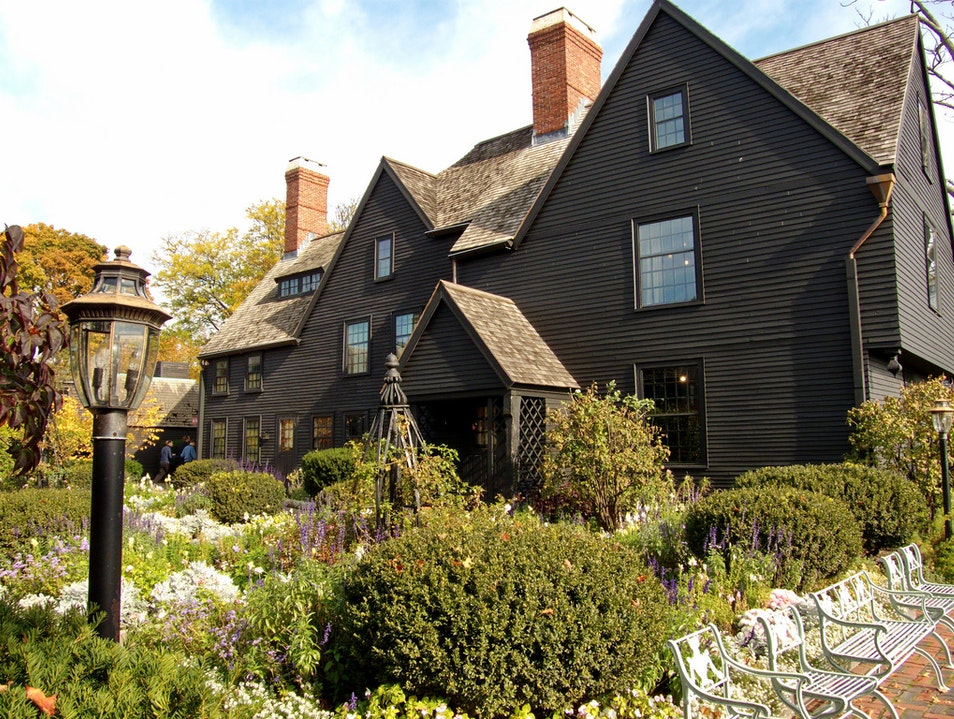 Nathaniel Hawthorne's House of Seven Gables Salem Massachusetts United States