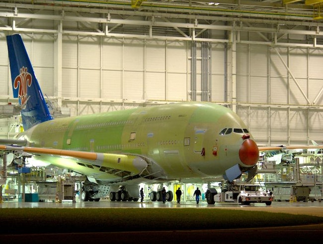 Airbus A380 Factory Tour