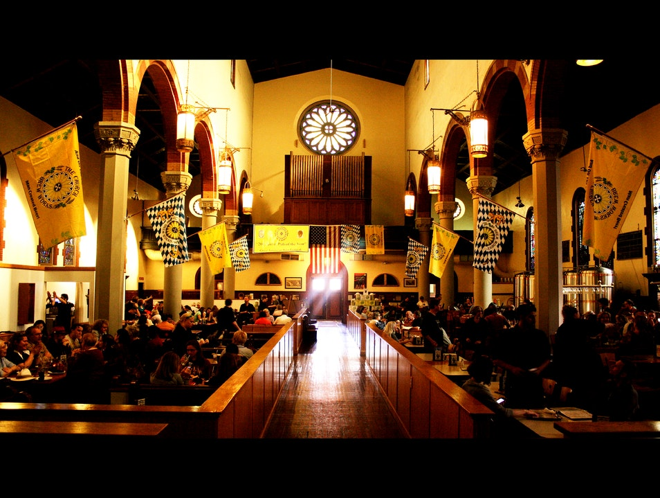 Congregate at The Church Brew Works Pittsburgh Pennsylvania United States