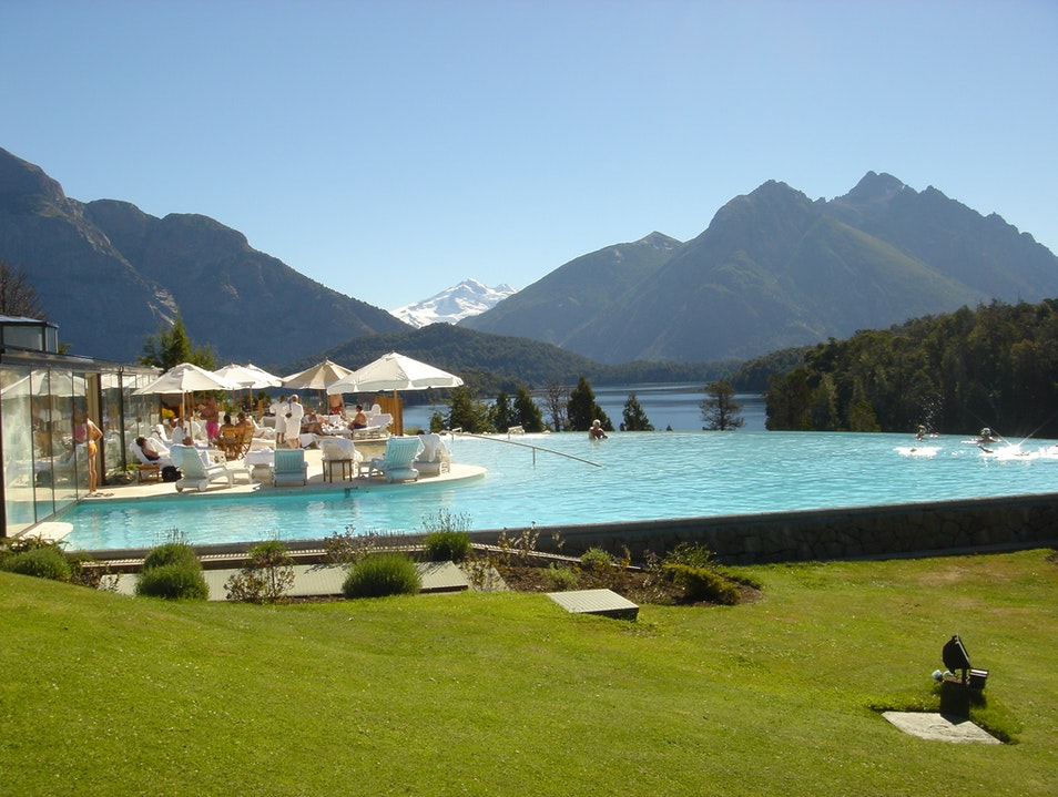 The Best Patagonian Swimming Pool Bariloche  Argentina