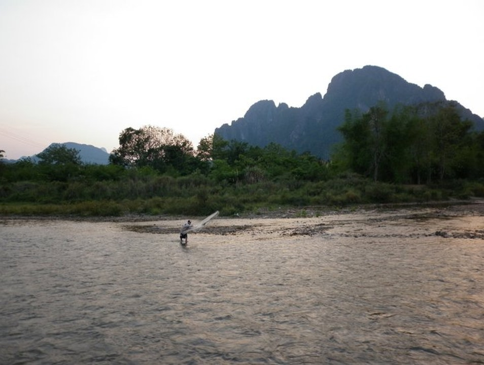 Never Thought I'd Want to Stay Here! Vang Vieng  Laos