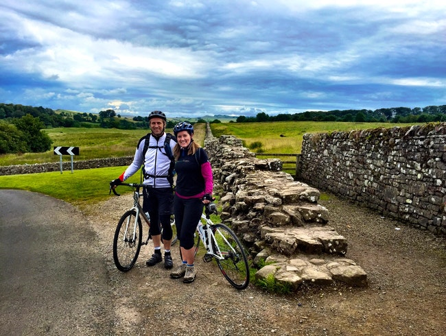 Bike Along Hadrian's Wall in Northumberland, England