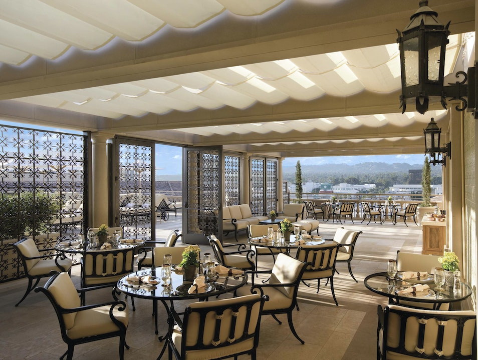 Terrace Breakfast at the Montage