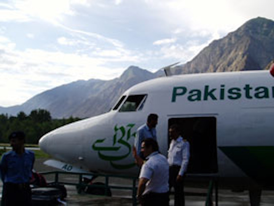 Flight to Northern Areas, Pakistan   Earth
