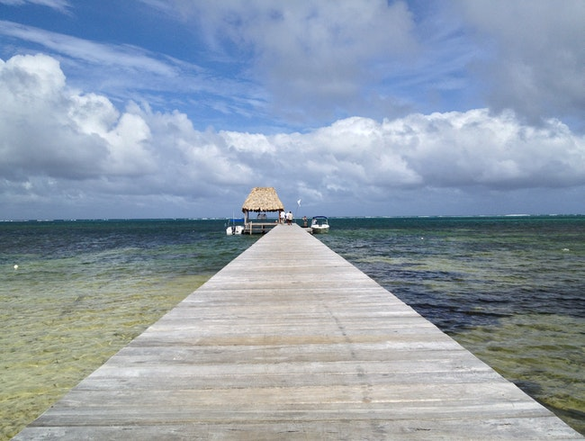 Visit the Lighthouse at Big Caye Bokel