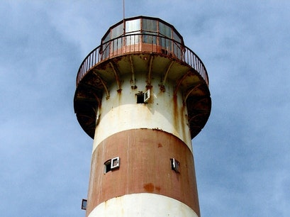 Morant Point Light House Saint Thomas Parish  Jamaica