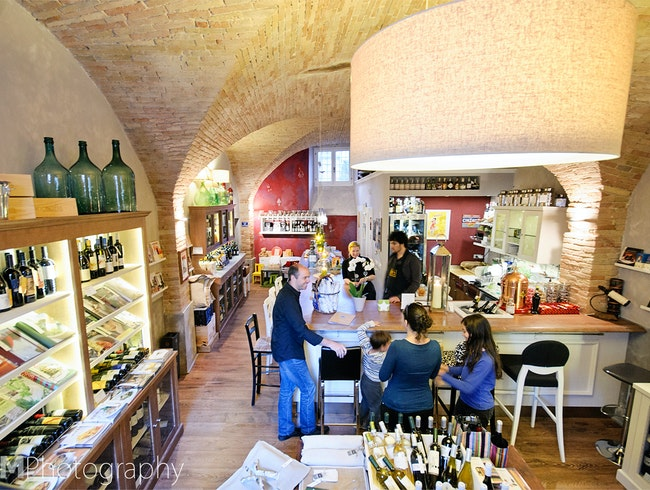 Beautiful Wine Bar and Shop in Umbria