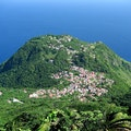 Mount Scenery Windwardside  Caribbean Netherlands
