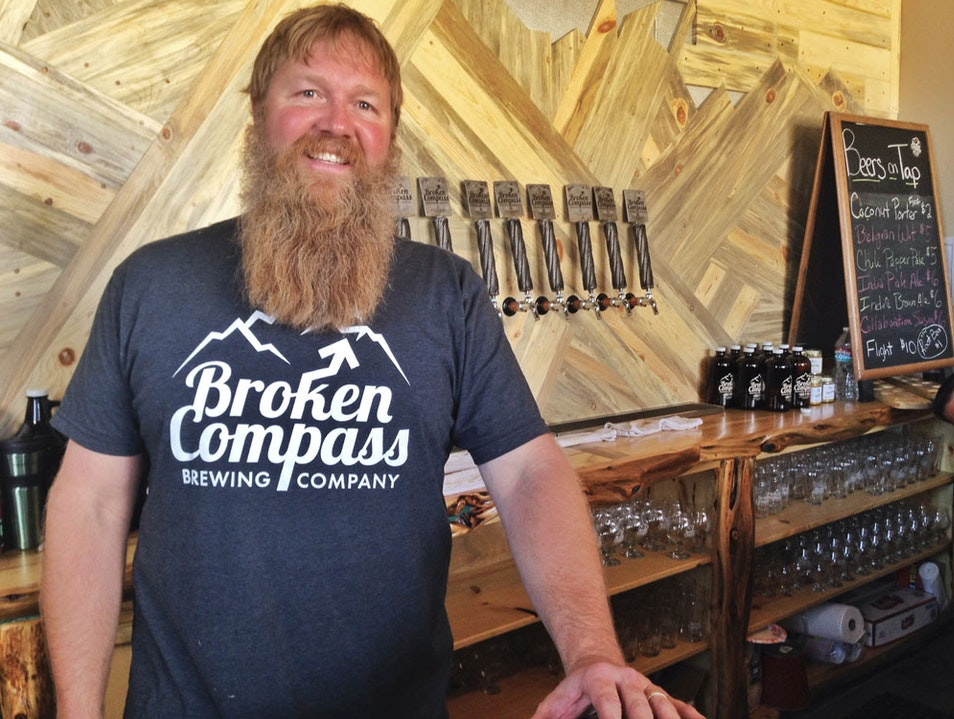 Coconut porter & more at Breckenridge's Broken Compass Breckenridge Colorado United States