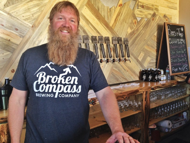 Coconut porter & more at Breckenridge's Broken Compass