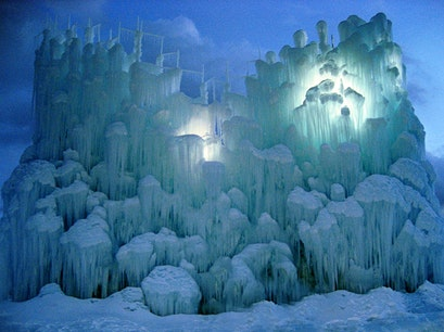 Ice Castle Heber City Utah United States