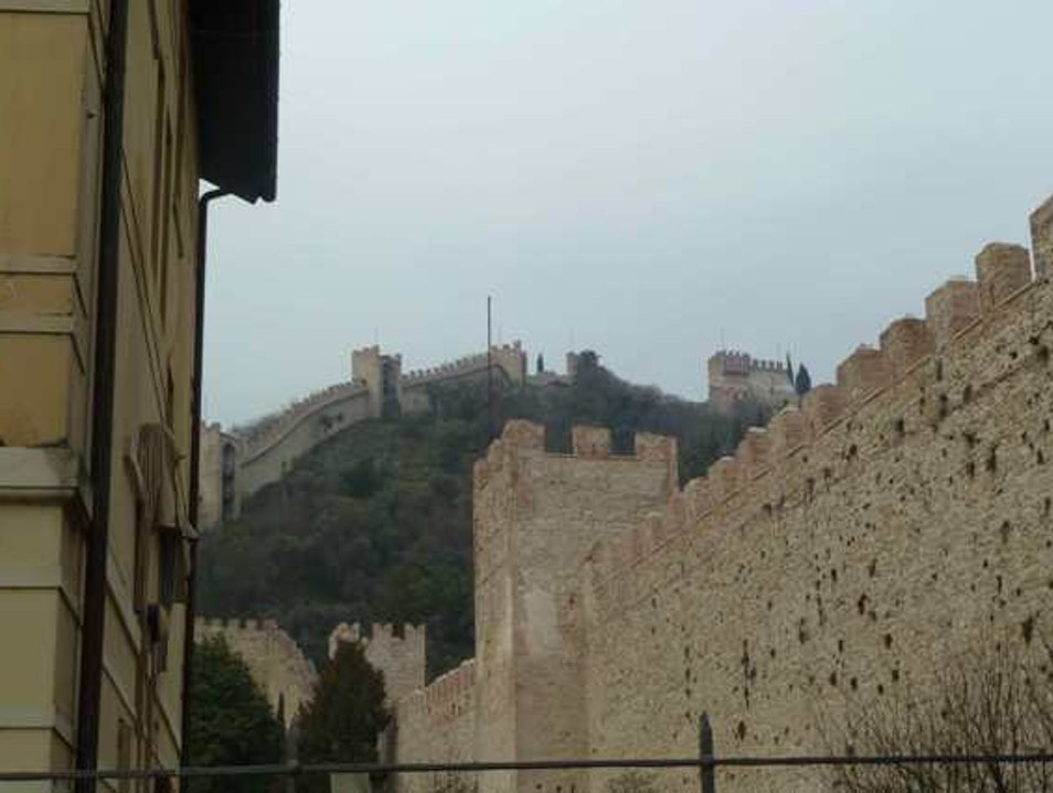 Upper Castle of Marostica  Bassano Del Grappa  Italy