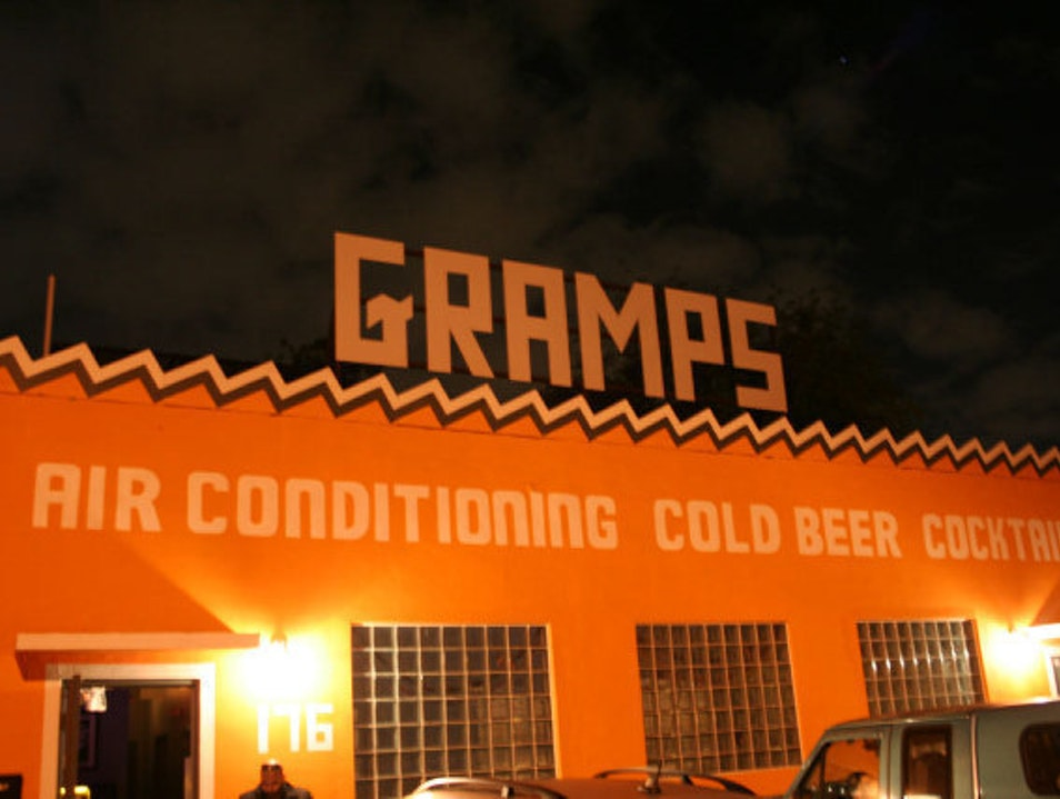 Gramps: Beer. Cocktails. Air Conditioning Miami Florida United States