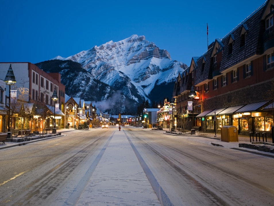 Pony Up to Mountain Culture  Banff  Canada