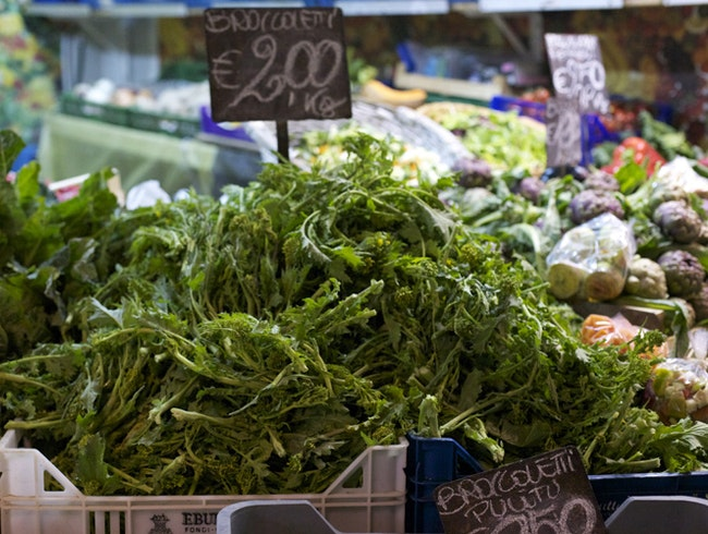 The city's best and busiest produce market