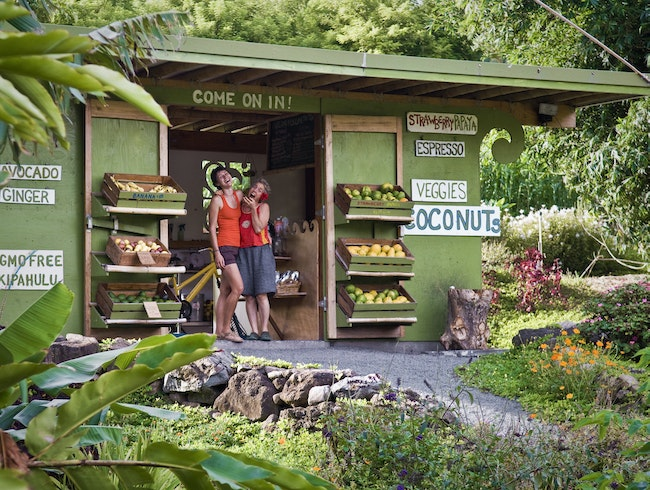 Farm Stand in Paradise