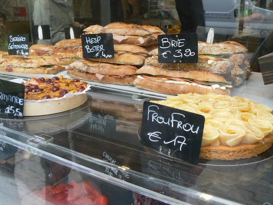 This is Bruxelles:  Boulangerie Charli Brussels  Belgium
