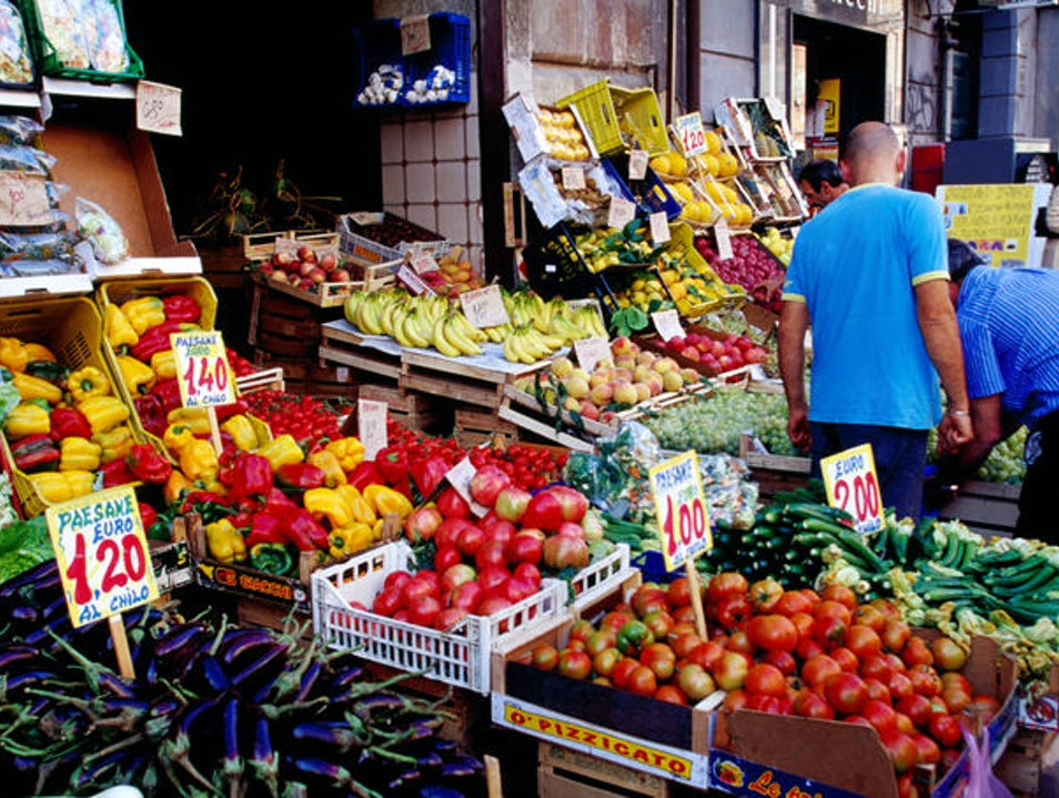 The Oldest Outdoor Food Market in Naples   Italy