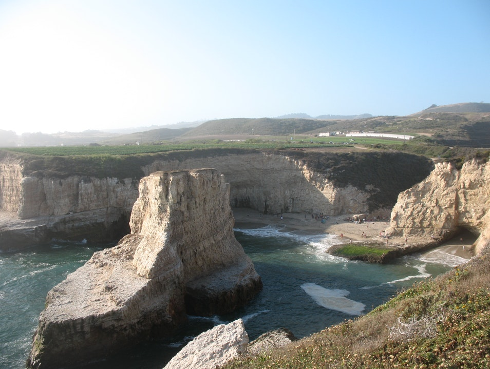 Shark Fin Cove in Davenport Davenport California United States