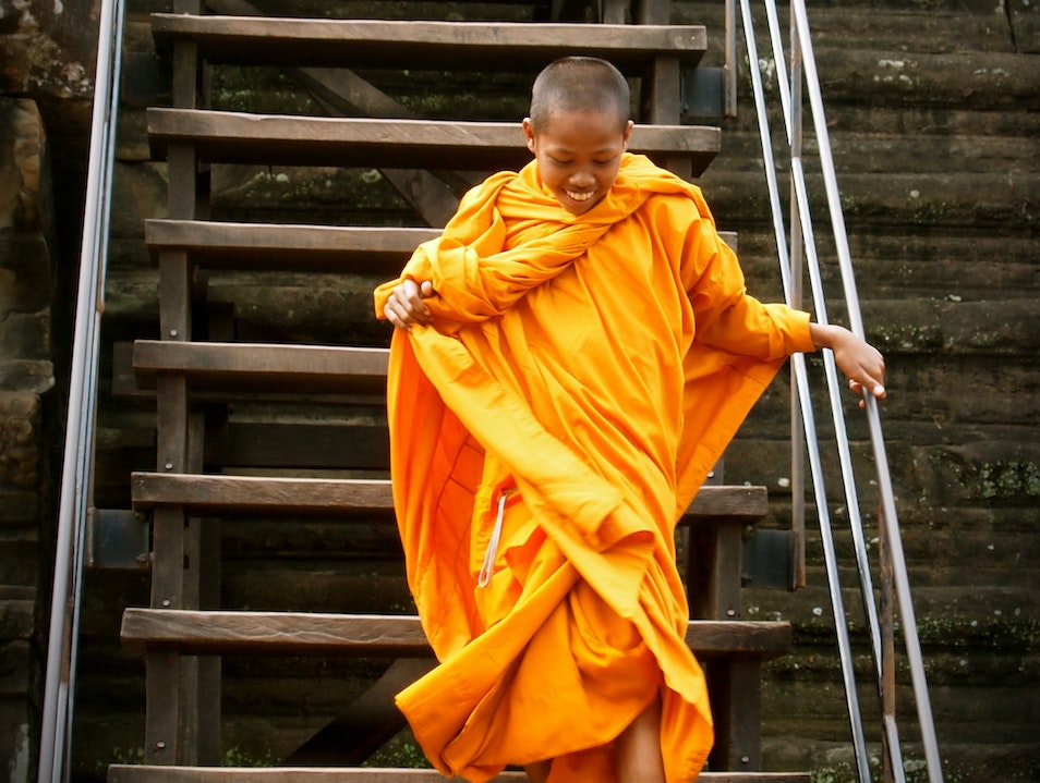 Carefree Monk!