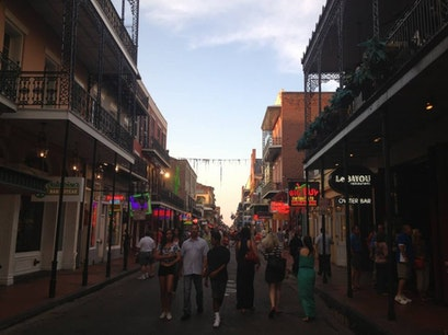 Bourbon St New Orleans Louisiana United States