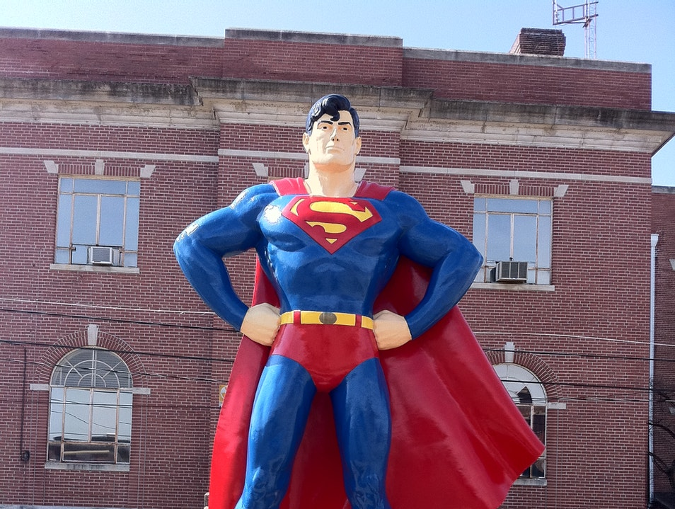 Truth, Justice and the American Way Metropolis Illinois United States