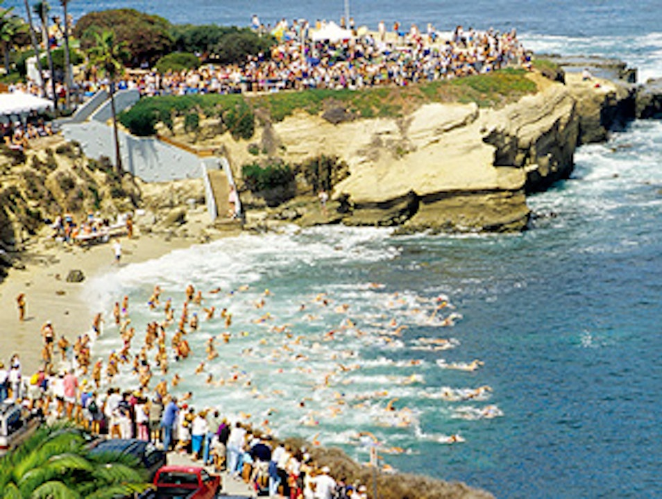 La Jolla Rough Water Swim San Diego California United States