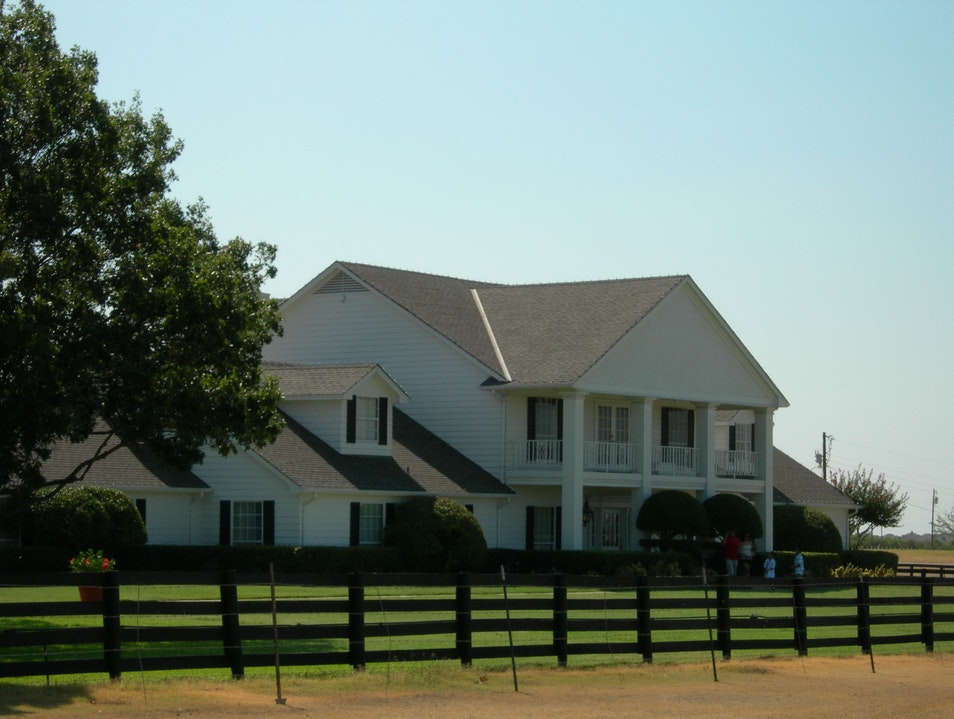 Say 'Howdy' to Southfork Allen Texas United States