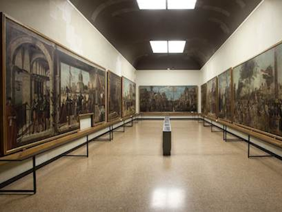 Accademia Gallery Venice  Italy