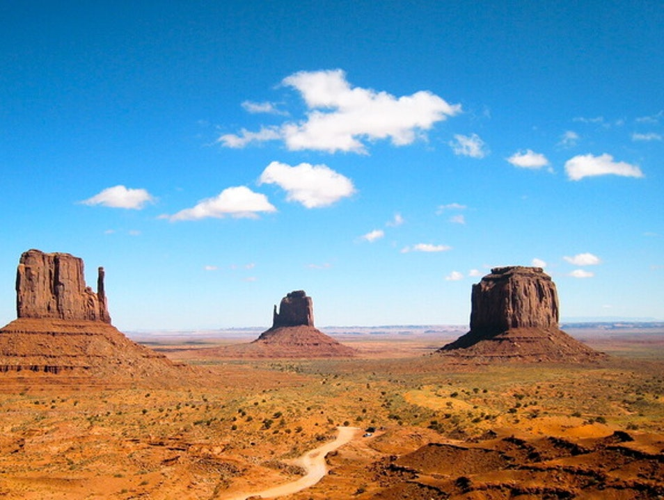 A Very Spiritual Landscape Oljato Monument Valley Utah United States