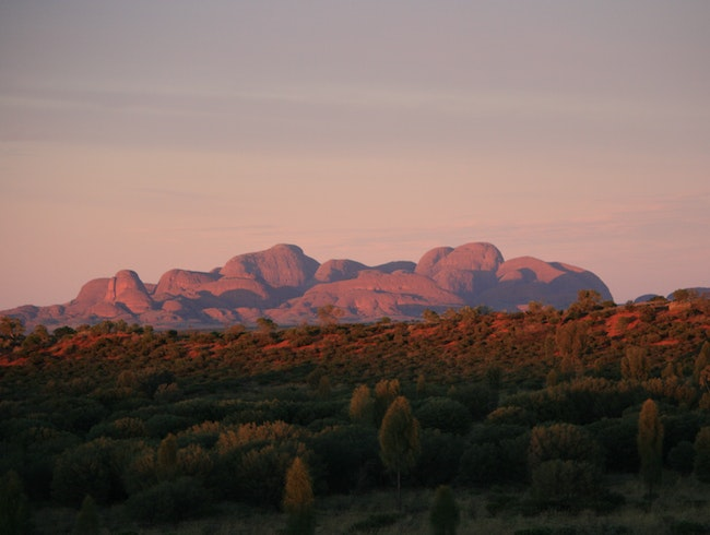 Sunrise at KataTjuta