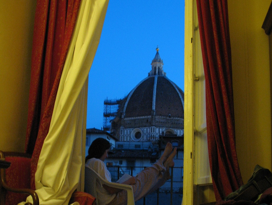 Amazing views of the Duomo Florence  Italy