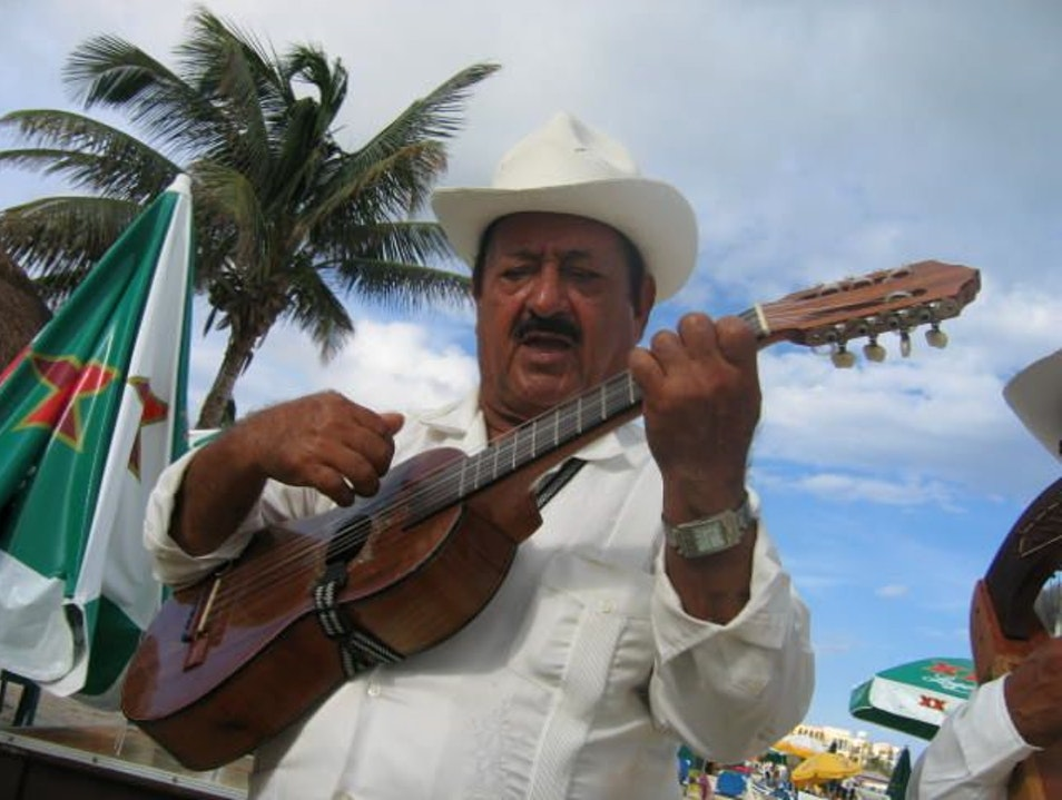 Music on the Beach! Perfection! Playa Del Carmen  Mexico