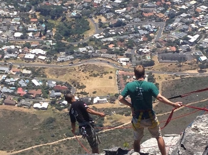 Abseil Table Mountain Cape Town  South Africa