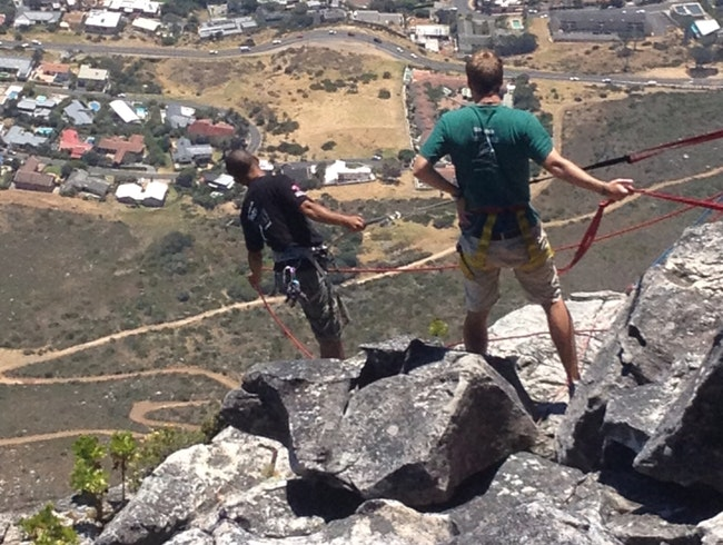 Rappel Table Mountain !