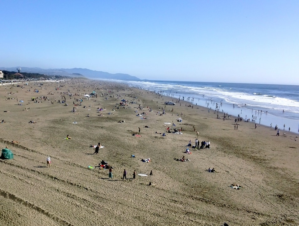 Sunny Beach...A Rare Treat! San Francisco California United States