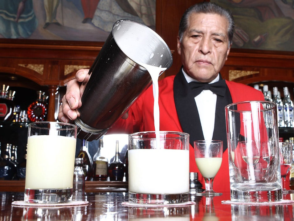 Hotel Maury: Home of the Original Pisco Sour