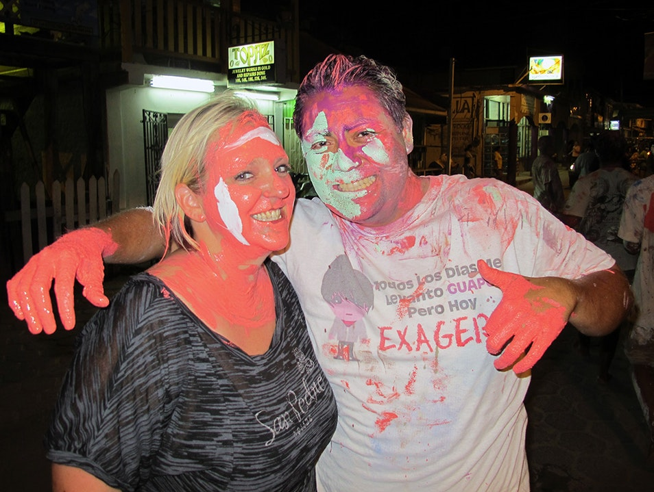 Get Painted at Carnaval