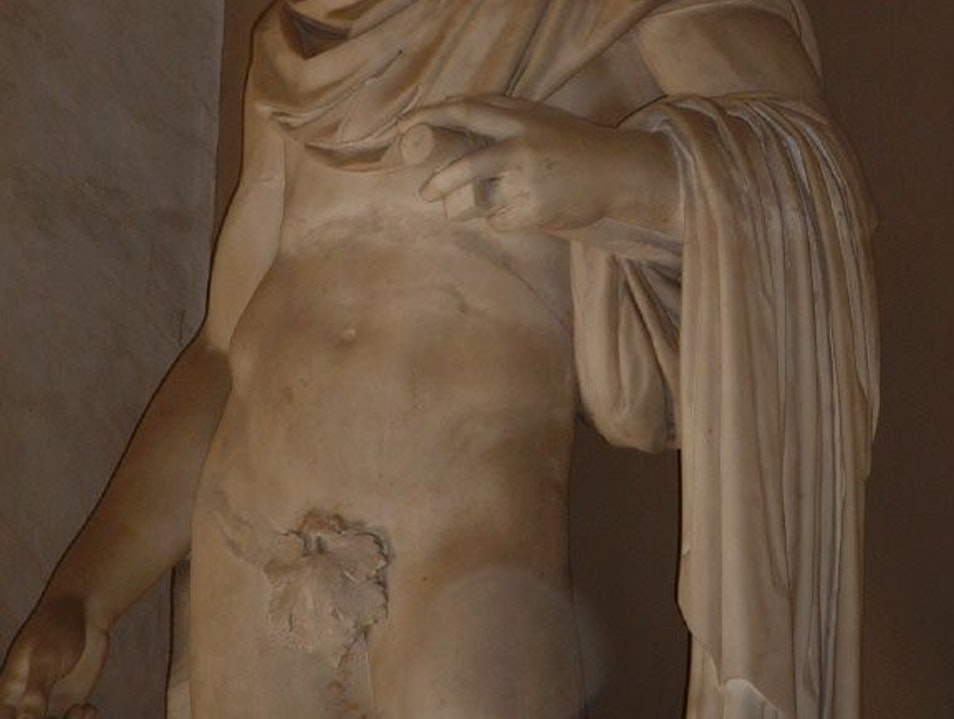 This Statue Feels Your Pain. Rome  Italy