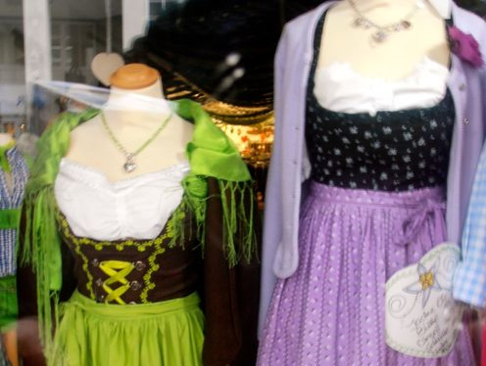 Dress Like a Local in a Dirndl or Lederhosen Munich  Germany