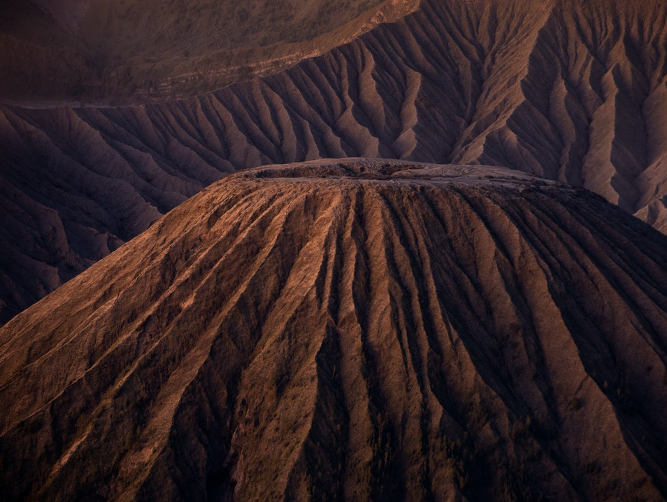 Mt Bromo, a desolate beauty