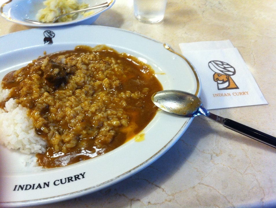 Spicy Japanese Curry Osaka  Japan